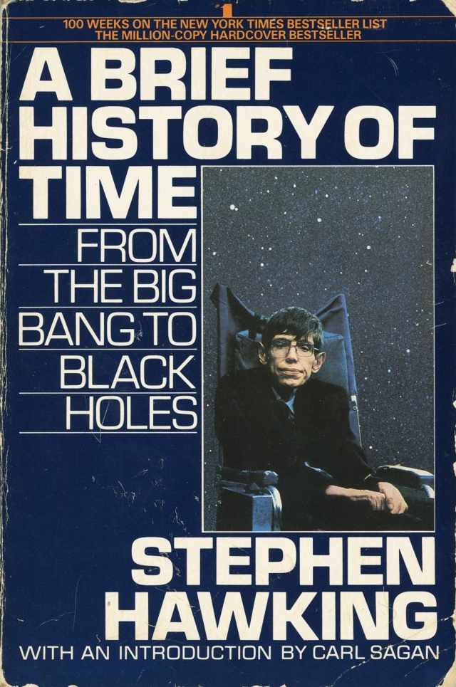 """Breve Historia del Tiempo"", de Stephen Hawking"